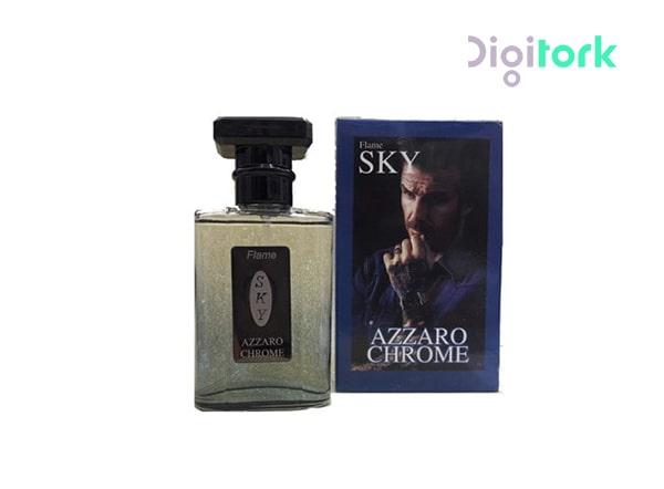 عطر ادوپرفیوم مردانه ۳۵ میل اسکای مدل AZZARO CHROME