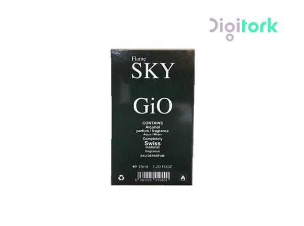 عطر ادوپرفیوم مردانه ۳۵ میل اسکای مدل GIO