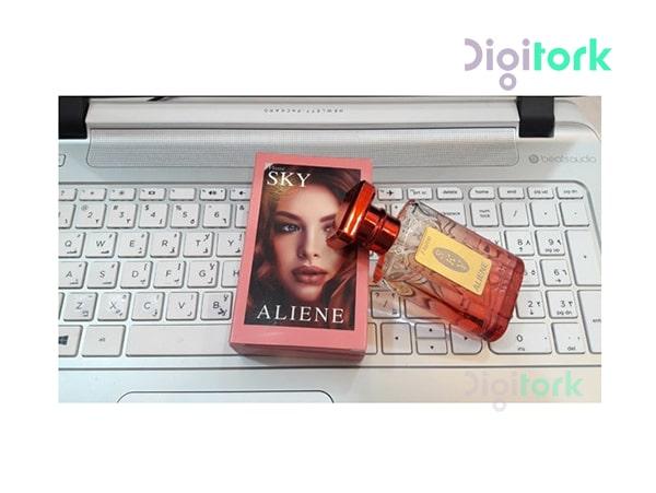 عطر ادوپرفیوم زنانه ۳۵ میل اسکای مدل آلی ین ALIENE