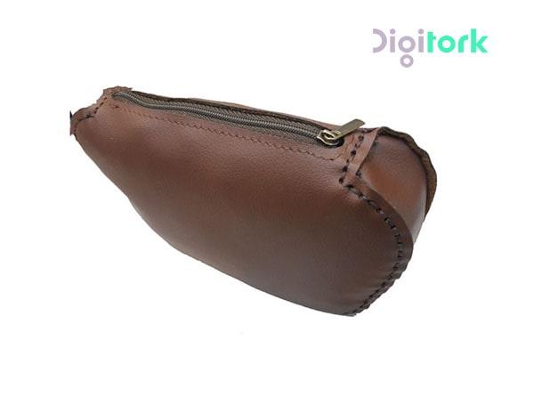 کیف لوازم آرایشی چرم مصنوعی زنانه