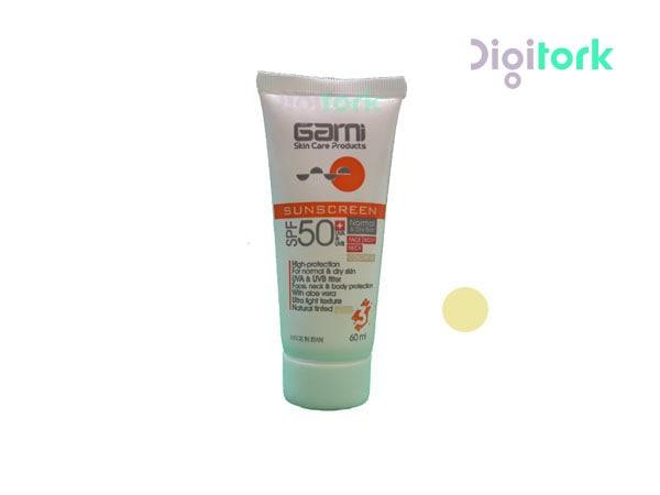 کرم ضد آفتاب گارنی مناسب پوست های نرمال و خشک