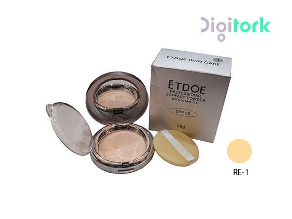 پنکک آرایشی اتود مدل ETODE  RE-1