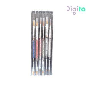 ست قلم کاشت ناخن