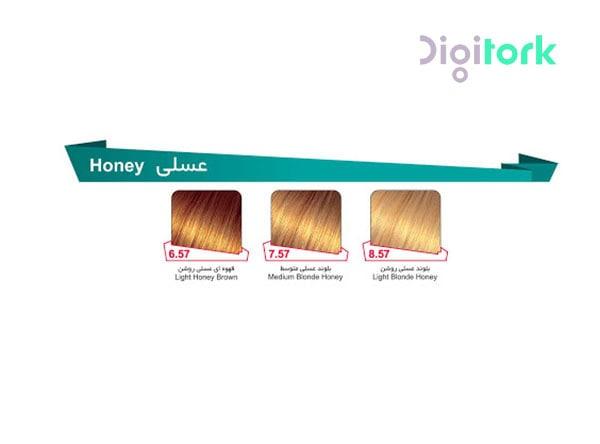 رنگ مو لوپینا گروه عسلی LOPINA