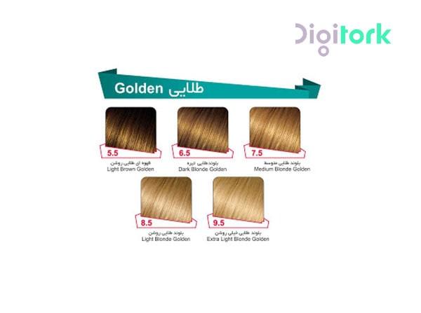رنگ مو لوپینا سری بلوند طلایی LOPINA