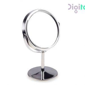 آینه آرایشی استیل گرد