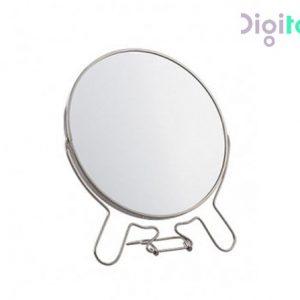 آینه آرایشی استیل رومیزی