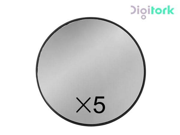 آینه آرایشی گرد یکطرفه بزرگنمایی ۵ برابر