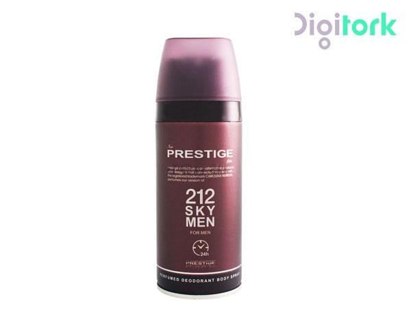 اسپری خوشبو کننده بدن مردانه پرستیژ مدل ۲۱۲